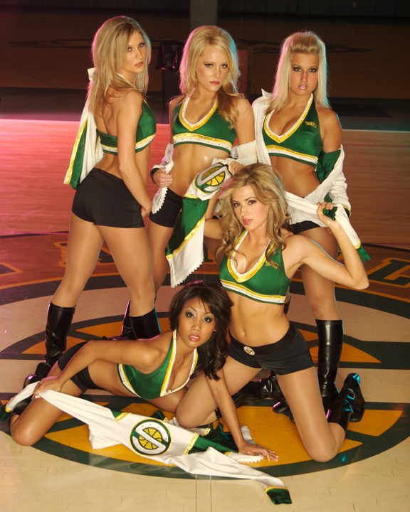 Jan 26, 2008 Nigel Cooper Seattle SuperSonics Dance Team