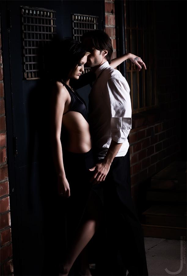 Female and Male model photo shoot of La_Lauren Nicole and Brett Richards by Jeff Wayne in Los Angeles, CA