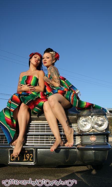 Jan 31, 2008 RottencandyPhotography Elaina DeCarlo & Miss Rockwell DeVil