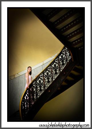 Rochester, NY Feb 01, 2008 John Larkin Photography Stairway