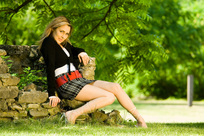 Female model photo shoot of Fabulous von Vette by Frank the German in Belleville (ON), Canada, wardrobe styled by Ryan Chamberlain, makeup by Emerald_City