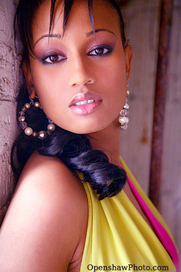 Female model photo shoot of Latoya Shanell by Openshaw Photo in Cermak Super Shoot, makeup by Bisi E -- Crystal-Eyez