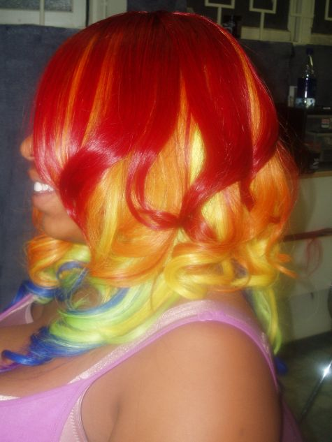 Feb 03, 2008 Gay Pride 2006 (Rainbow layered Quick weave)