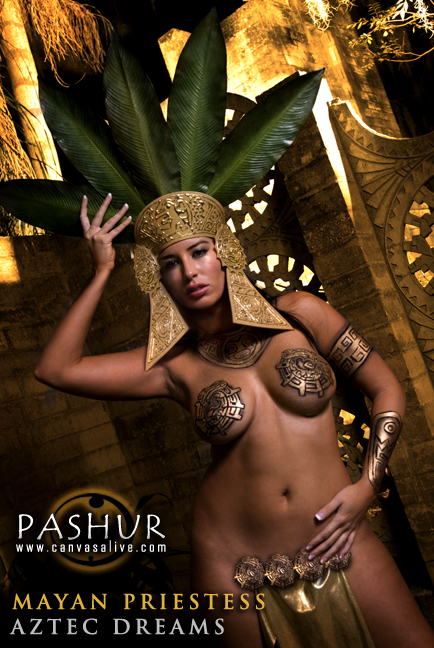 Orlando, FL Feb 05, 2008 Pashur / Rich Johnson Mayan Priestess