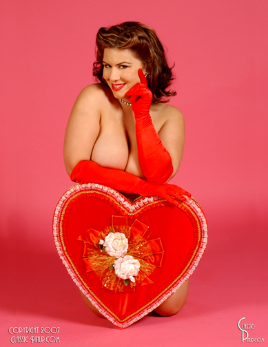 Feb 05, 2008 2008 classic-pinup.com Be My Valentine?