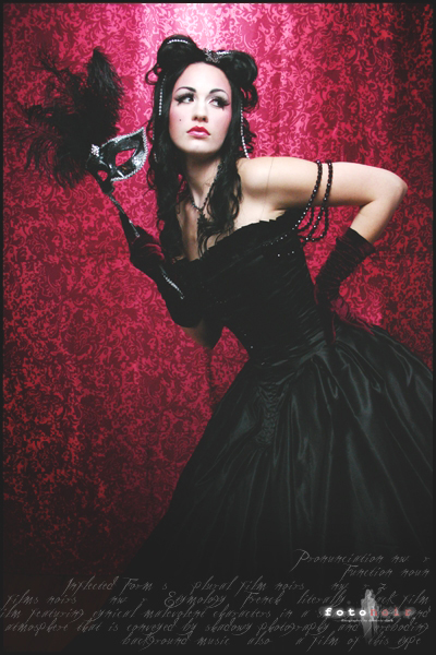 Feb 06, 2008 Azraels Accomplice Designs Masquerade Shoot with Lady Bathory Gown