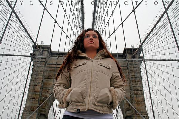 NY Feb 07, 2008 MICHAEL STYLES Brooklyn Bridge