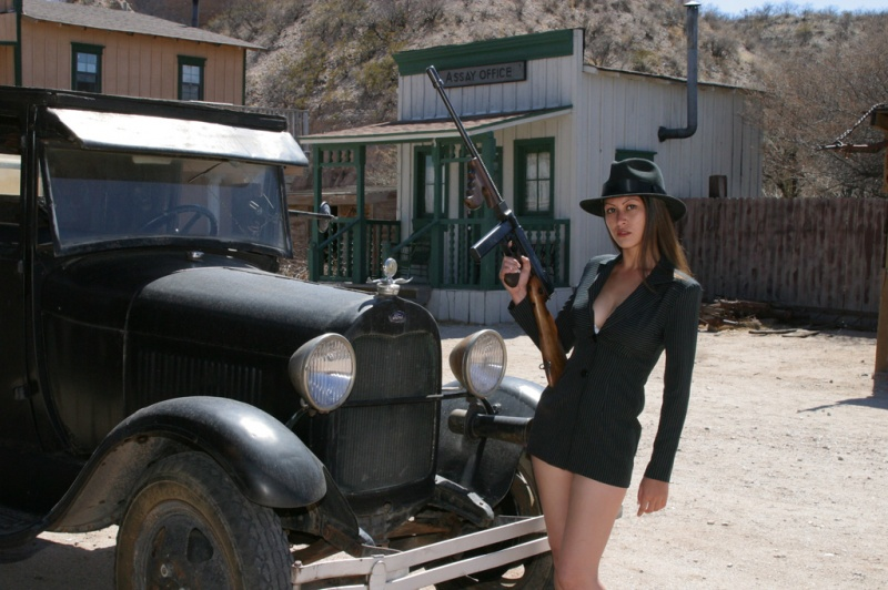 Gammons Gulch, movie set town, Arizona Feb 08, 2008 Lynn Henkel Photography DarkAsia, gangster girl