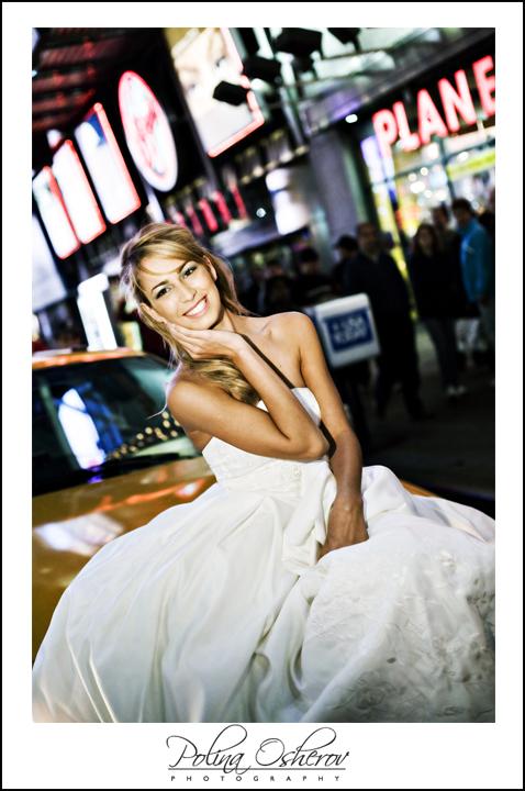 Times Square, NYC Feb 10, 2008 Polina Osherov