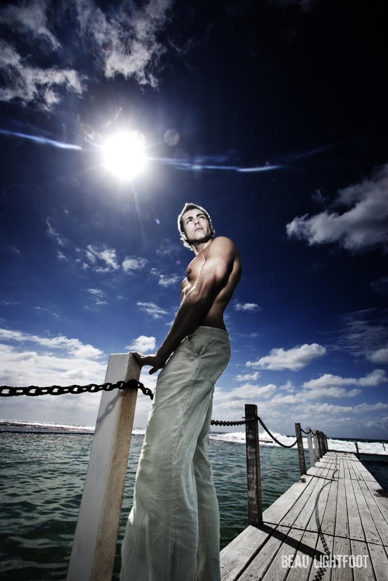 Male model photo shoot of Bart Verschuuren in Northern Beaches - Sydney