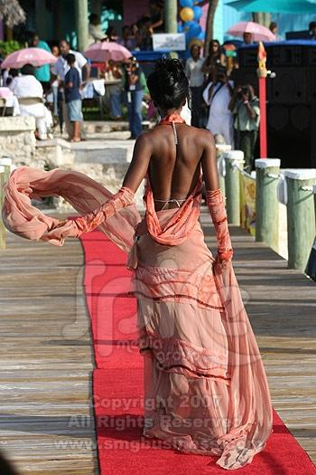 Nassau, Bahamas Feb 10, 2008 Beauty from behind