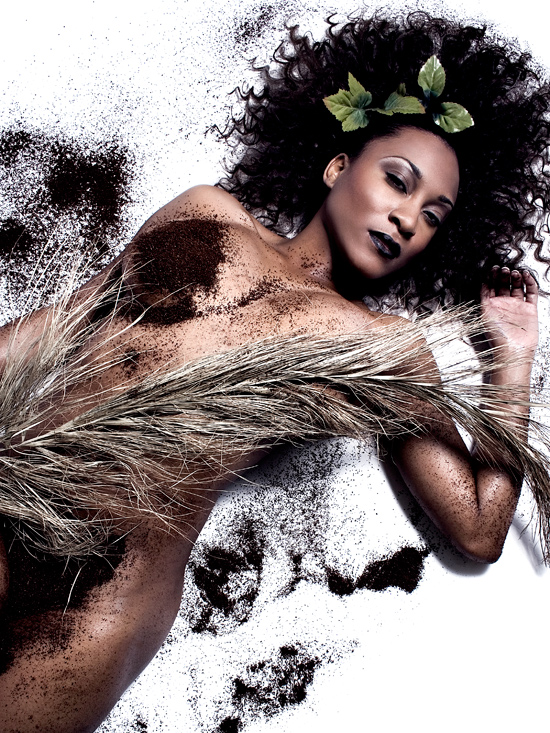 Female model photo shoot of Tiffani The Bombshell by Laretta Houston, makeup by Makeup Artist MiMi J