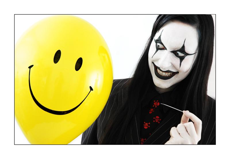 Berlin Feb 12, 2008 Florian Geldner evil clown