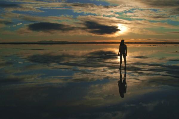 Salt Flats Feb 12, 2008 Mitch Adamson In the clouds