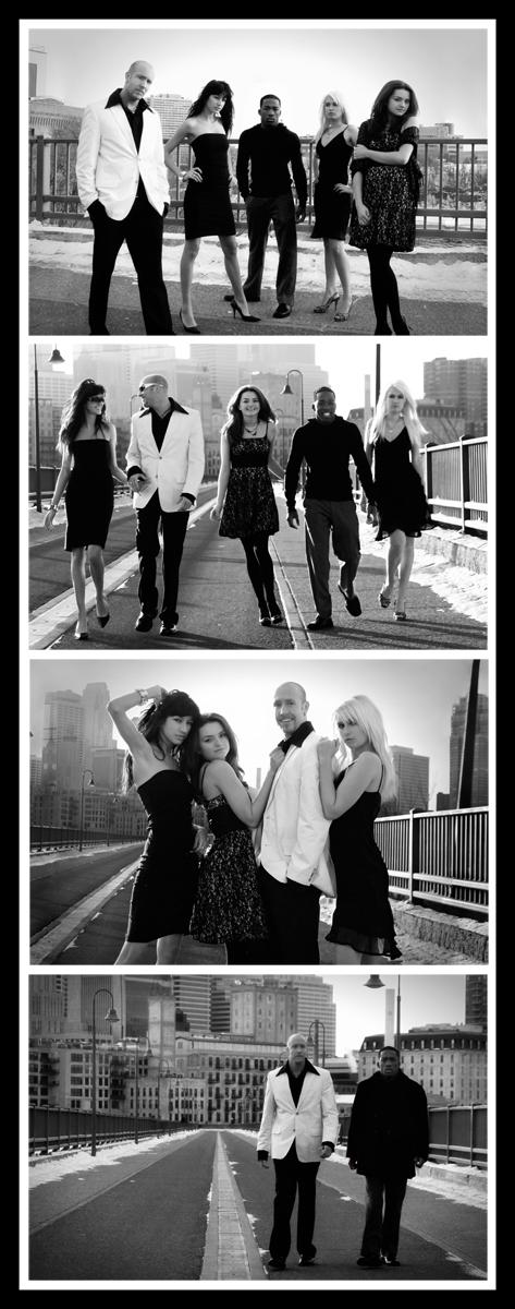 Female and Male model photo shoot of J Boettner Studios, Vasilenka, Elmira L, Devinair and James Lange
