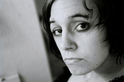 Female model photo shoot of nicci vicious in my bathroom