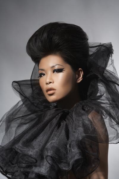 NY Feb 17, 2008 Photo: Eric Von Lockhart, Makeup: Danessa Myricks, Hair: Tasha Camp Danessa Myricks Beauty DVD