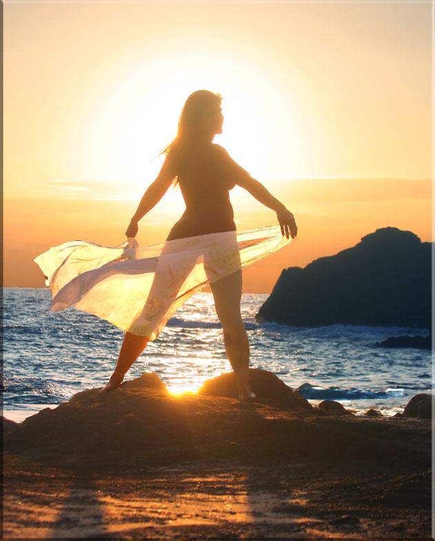 Eternity Beach Feb 17, 2008 hawaiian phototropix angel  at dawn