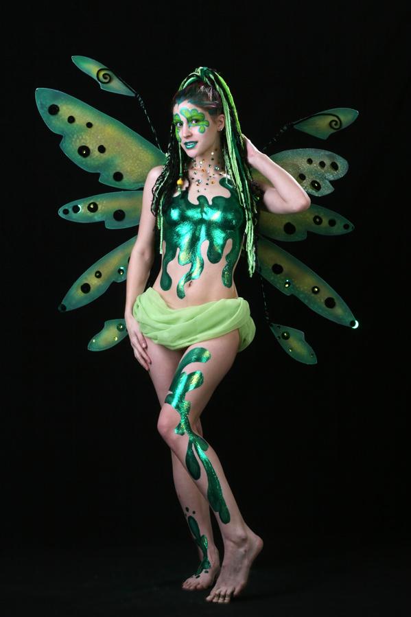 Feb 18, 2008 Absinthe Fairy - Latex Body Paint