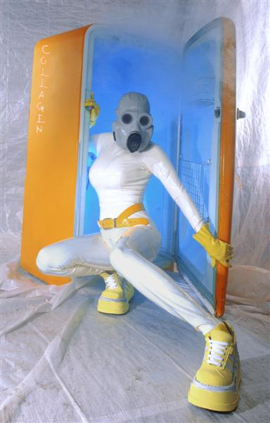 Pike River studio Feb 19, 2008 Concept & outfit Collagen Cryogenic Doll