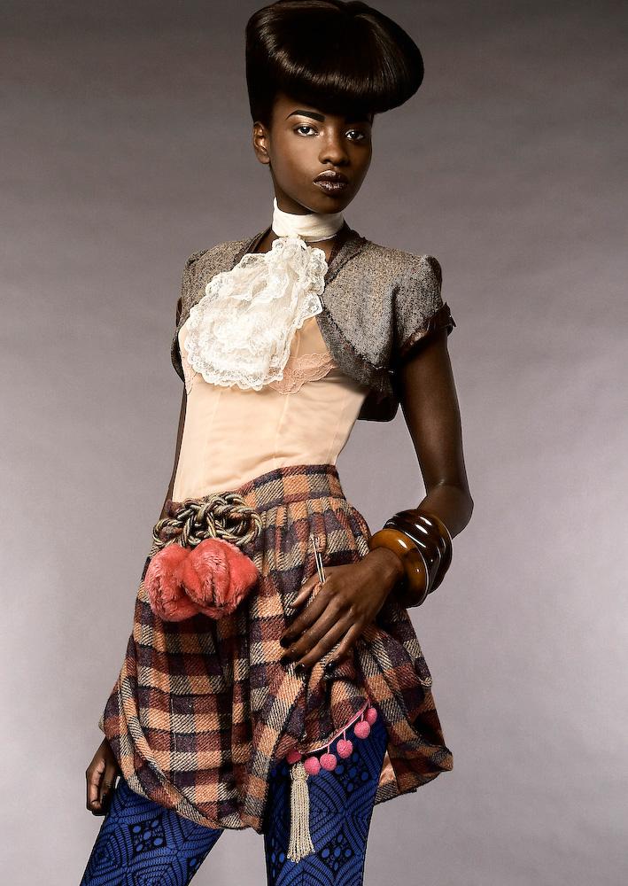Feb 20, 2008 Walter Singh © 2008 Honorine (EO), MUA/Greg Wencel - Styling/Zahra Younis