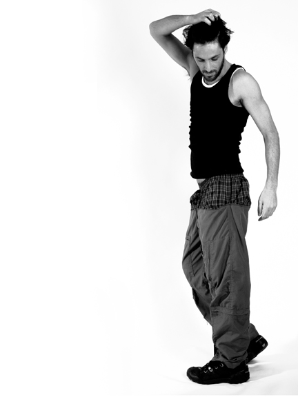 Male model photo shoot of -Oded Levy- in West Hollywood