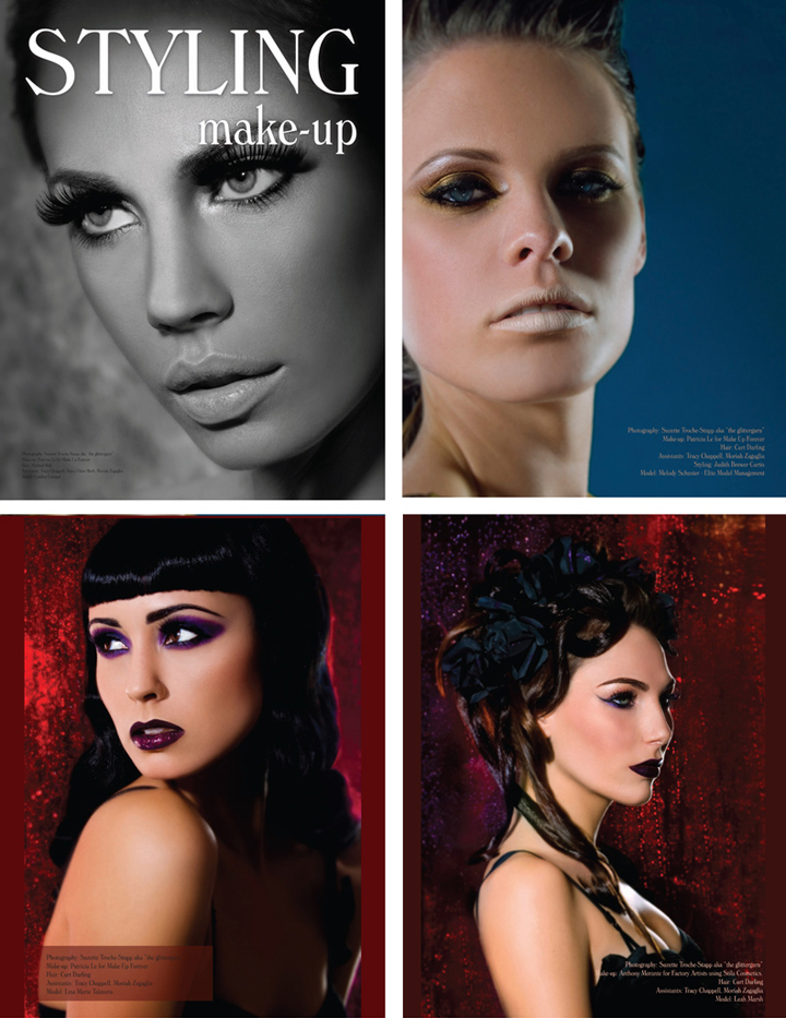 Timbuktu Studios Feb 22, 2008 Suzette Troche-Stapp aka  Styling Magazine- Make Up Editorial Feb 2008 (credits coming)