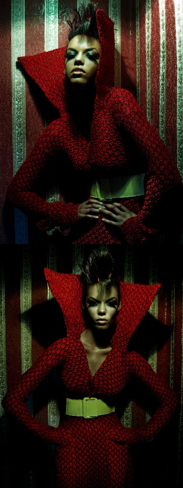 Feb 22, 2008 Photographer: Shamayim  Makeup Artist: Jessica Hernandez  Hair Stylist: Jonthan Wiggins  Model: Charde