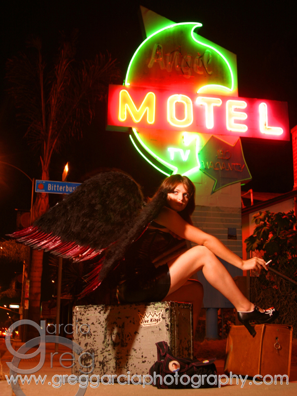 Orange California Feb 24, 2008 Greg Garcia Dark Angel