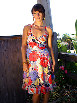 Laguna Beach CA Feb 25, 2008 Moonie & Mooney LLC Vivica Dress Spring