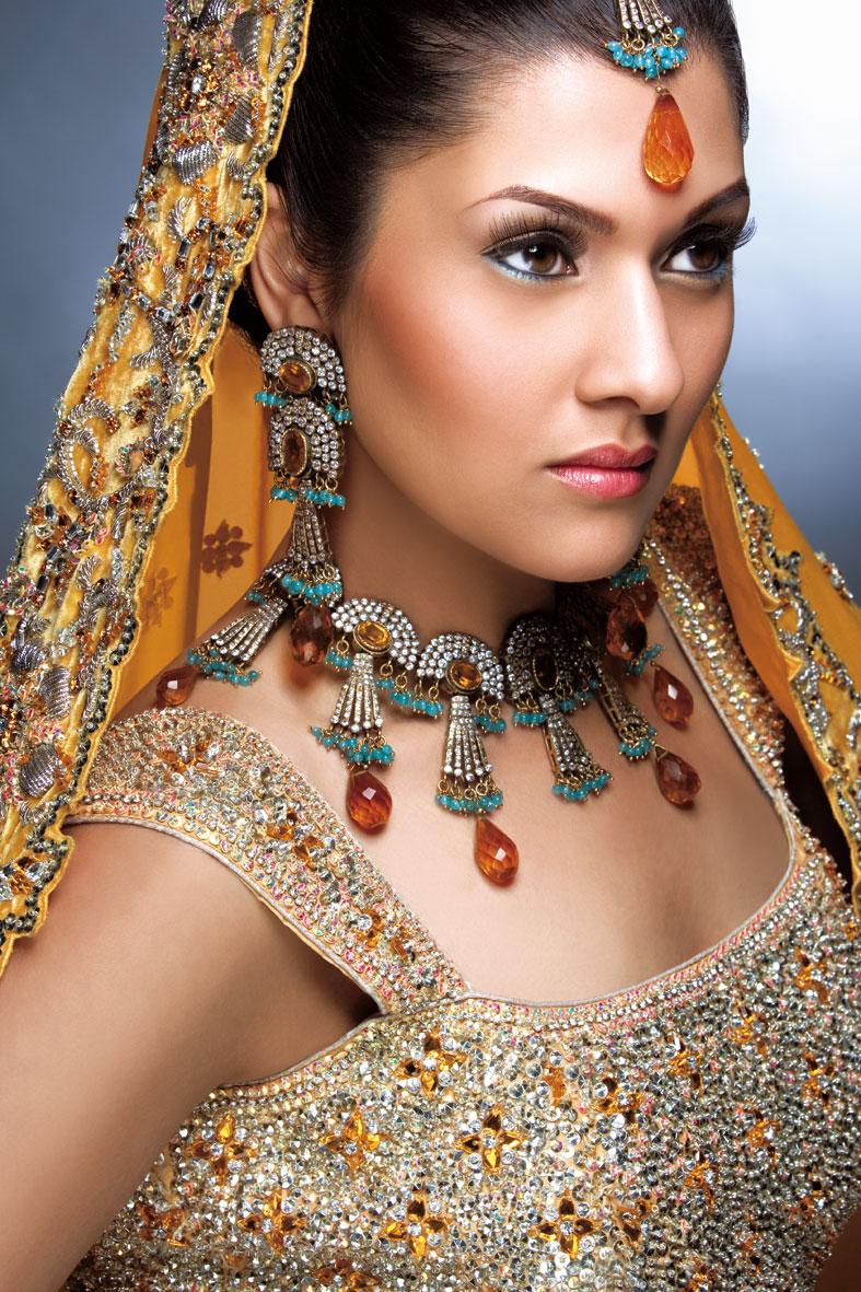 Asiana Studios Feb 26, 2008 Asiana Wedding Bridal Traditional Look By Raji Lal