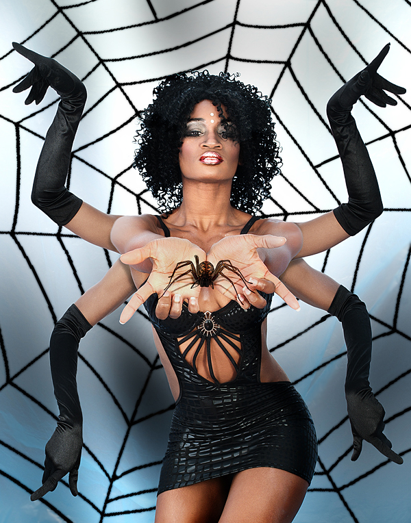Feb 26, 2008 NVP *Black Widow*: Do you REALLY want to get out of this web?