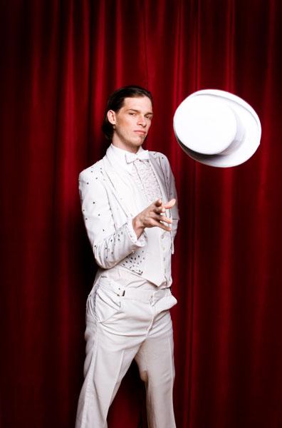 Male model photo shoot of Adrian Ross by arsenik in Toronto, hair styled by Wanda MacRae, makeup by Rikki Zucker