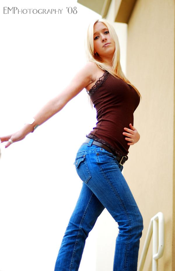 Female model photo shoot of kayc jones by Evan Moodie Photography