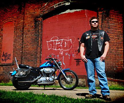 Downtown Coshocton Feb 28, 2008 2007 Digital Xtreme Urban Biker
