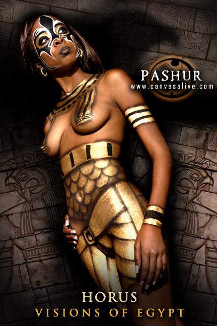 Jacksonville, Fl Feb 29, 2008 Pashur and Neal Rue God of the sun-Horus