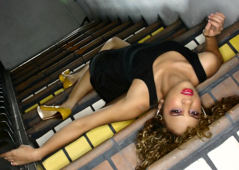 Female model photo shoot of rikkii