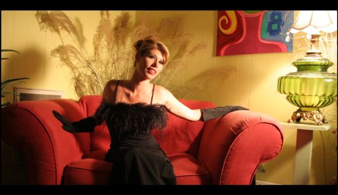 Female model photo shoot of Alison Eskandalo Hair in Josh's apartment!