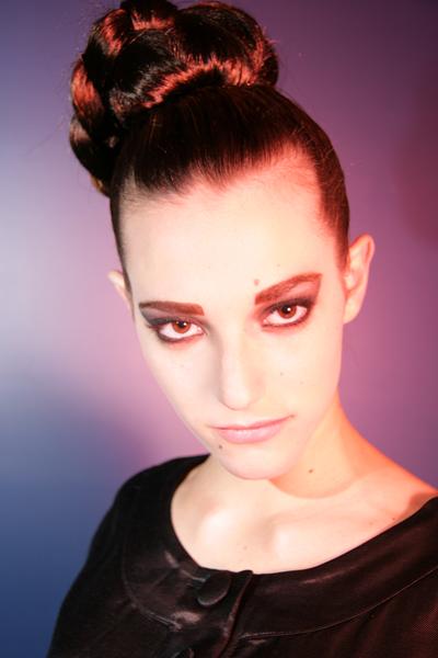 Female model photo shoot of Alison Eskandalo Hair in Element Lounge