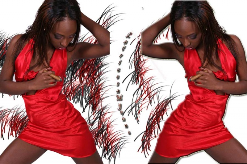 Female model photo shoot of House Of Myonne and Jasmine Bell