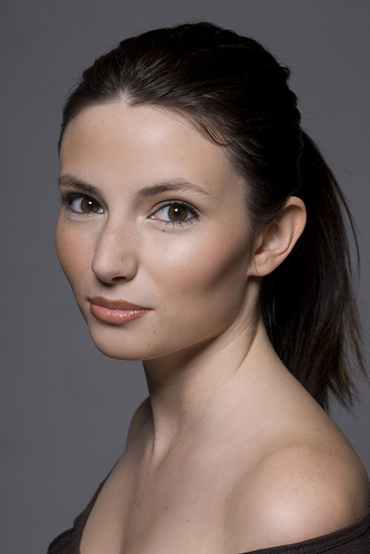Female model photo shoot of Brynn Cook by Michael Woodward, makeup by Imans Custom Faces