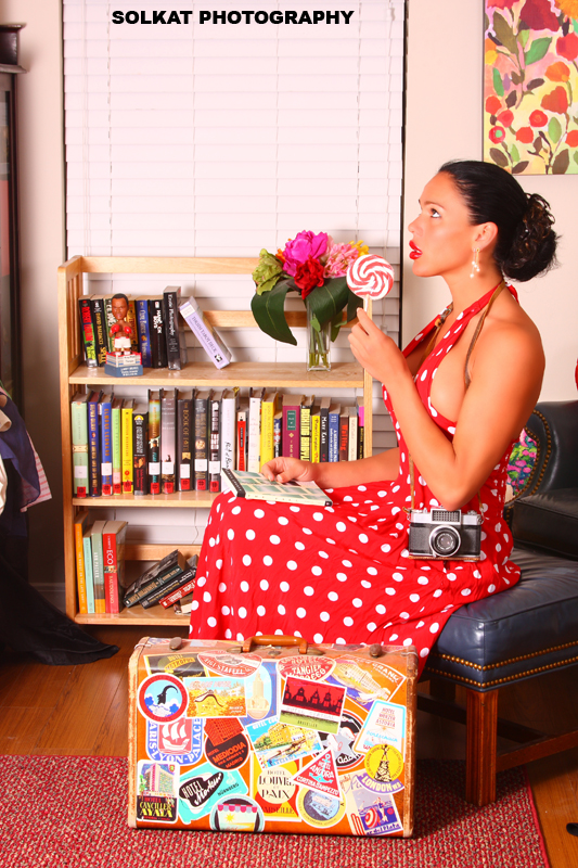 Female model photo shoot of Alisa Acosta by SolKat Photography in our commune