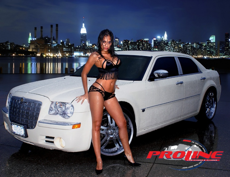 fbf Mar 11, 2008 IM Photography / Proline Car Stereo hot wet new york night. Bianca DaZz for Proline