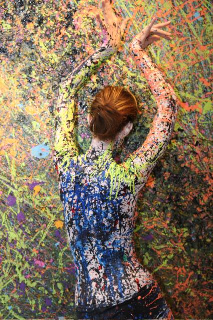 Art Detour Phoenix March 7 2008 Mar 12, 2008 seandavidwright Body painted by Kyle Jordre