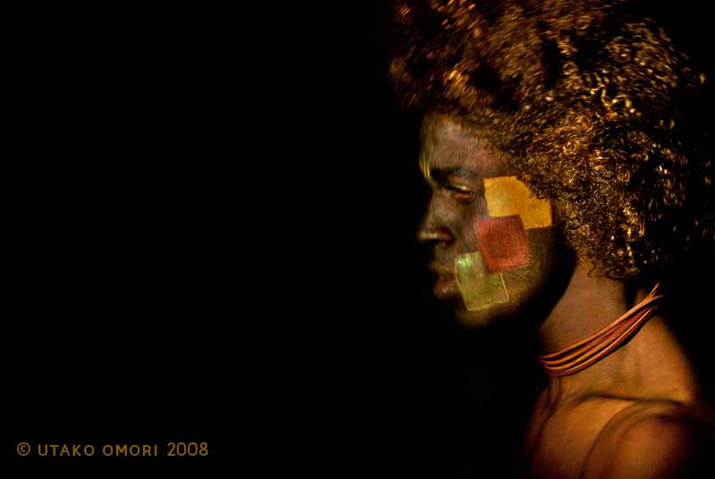 Male model photo shoot of utako omori and Paulo Pascoal in Makeup par melanie rodrigues