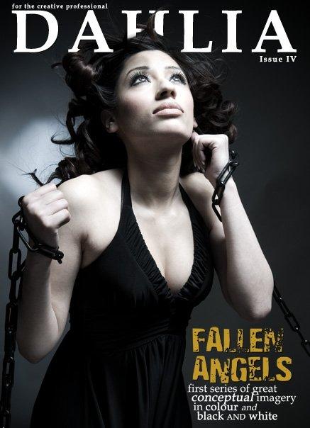 London Mar 13, 2008 Dahlia Magazine Cover