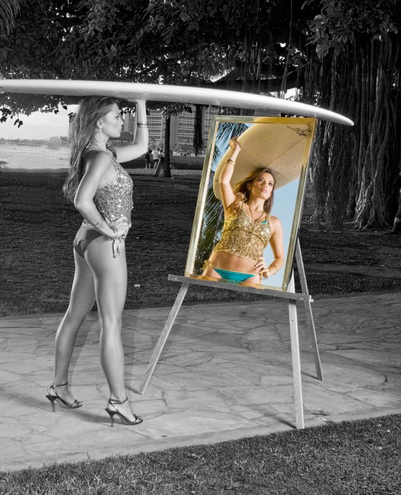 waikiki Mar 14, 2008 hawaiian phototropix seeing yourself in color