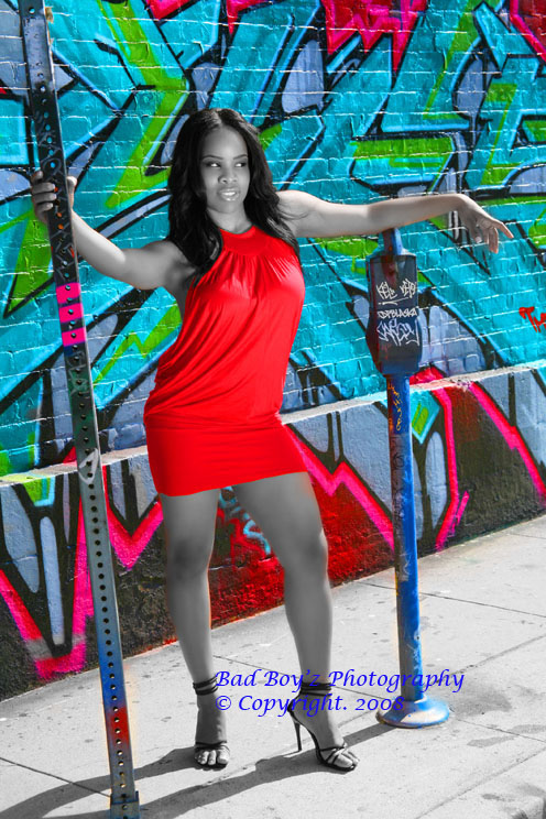 los angeles,calif Mar 18, 2008 Bad Boyz Photography Color in a B&W  World