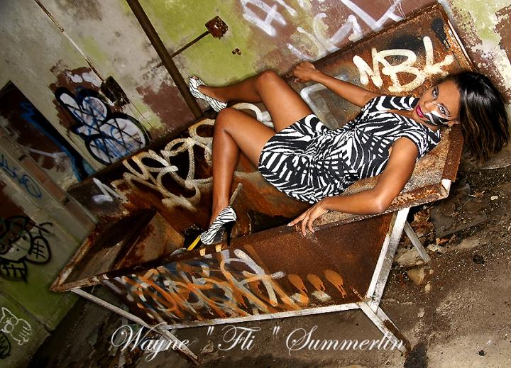 In the sink Mar 19, 2008 Wayne FLI Summerlin08 Model: Cherelle     MUA: Erica