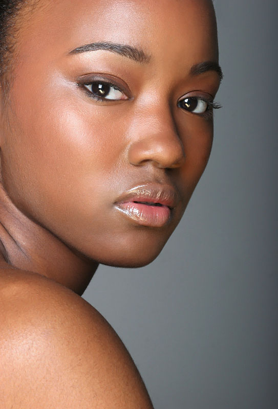 Female model photo shoot of AyanaB in Studio